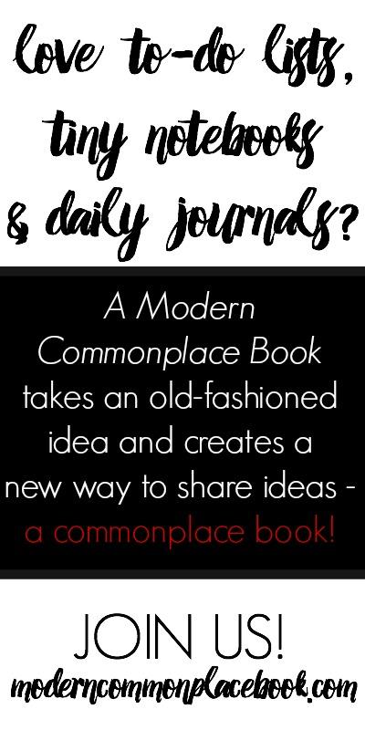 commonplacebook