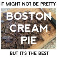 Boston Cream Pie: Best Dessert Ever