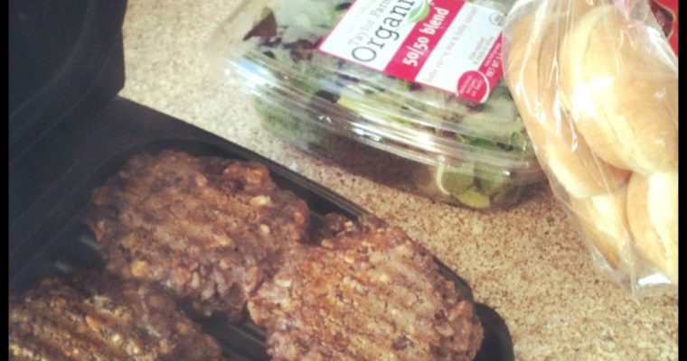 Easy Healthy Black Bean Burgers