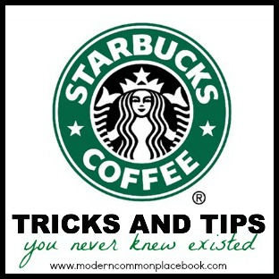 starbucks secret tricks and tips