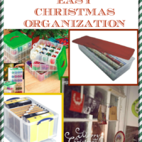 The 7th Day of Christmas: Easy Christmas Organization