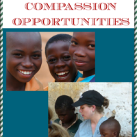 The 9th Day of Christmas:  Giving Back and Compassion Opportunities