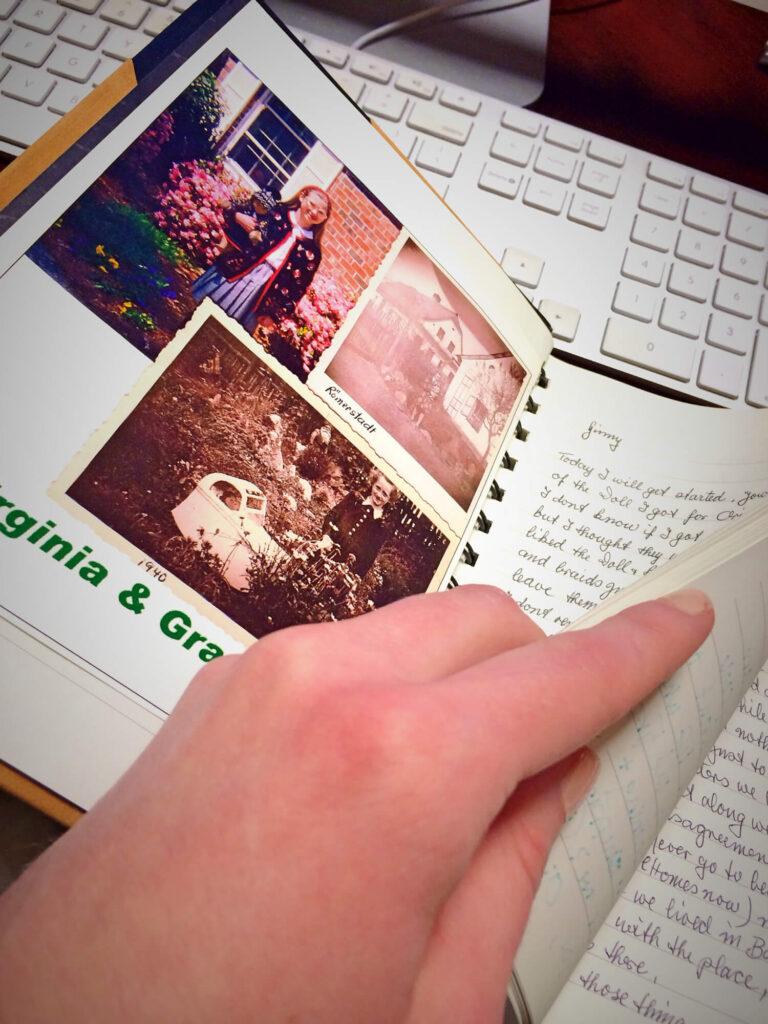 Make a child's grandparent journal
