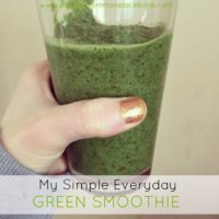 My Simple Everyday Green Smoothie