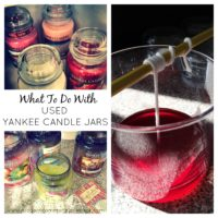 What to do with Used Yankee Candle Jars