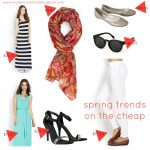 Spring Trends on the Cheap – and Anthropologie Giveaway
