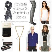 My Favorite Forever 21 Wardrobe Basics