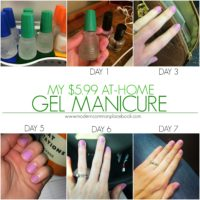 My $5.99 At-Home Gel Manicure
