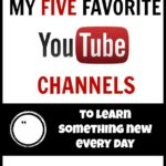 My Five Favorite Youtube Channels