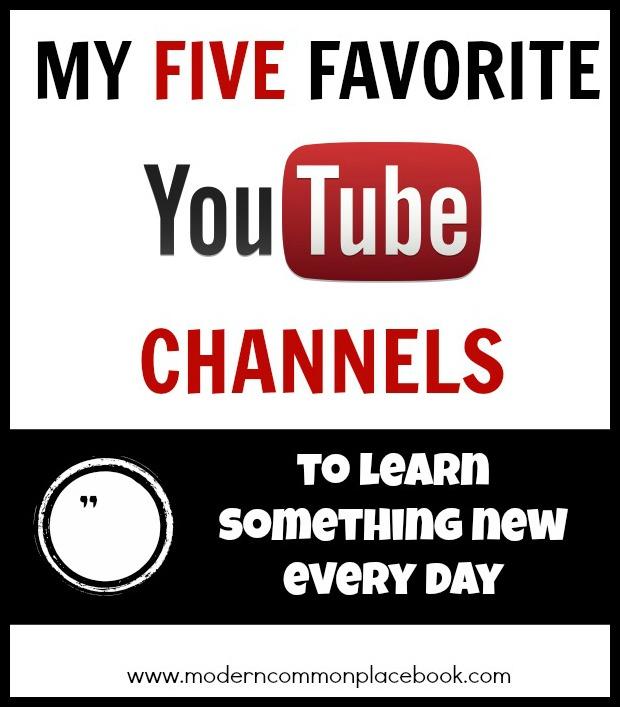 faive favorite youtube channels