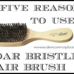Why I Use a Boar Bristle Hair Brush (I'm Not a Beauty Blogger)