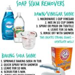 Tip of the Week: Natural Soap Scum Removers
