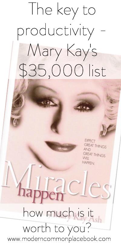 $35,000 list mary kay