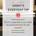 My Yoga Ball Office Chair