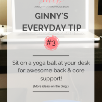 My Yoga Ball Office Chair