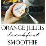 Orange Julius Breakfast Smooth - Made with Chobani! (only 4 ingredients!)