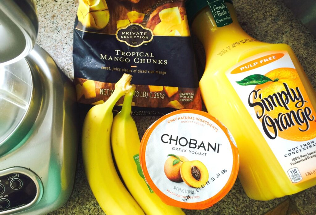 Orange Julius Breakfast Smooth - Made with Chobani!