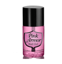 Pink Armor Nails
