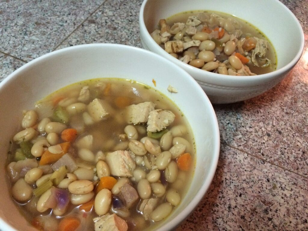 Trader Joe's EASY Chicken Soup | 6 Servings, 5 ingredients