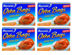 oven bags thanksgiving spicy turkey