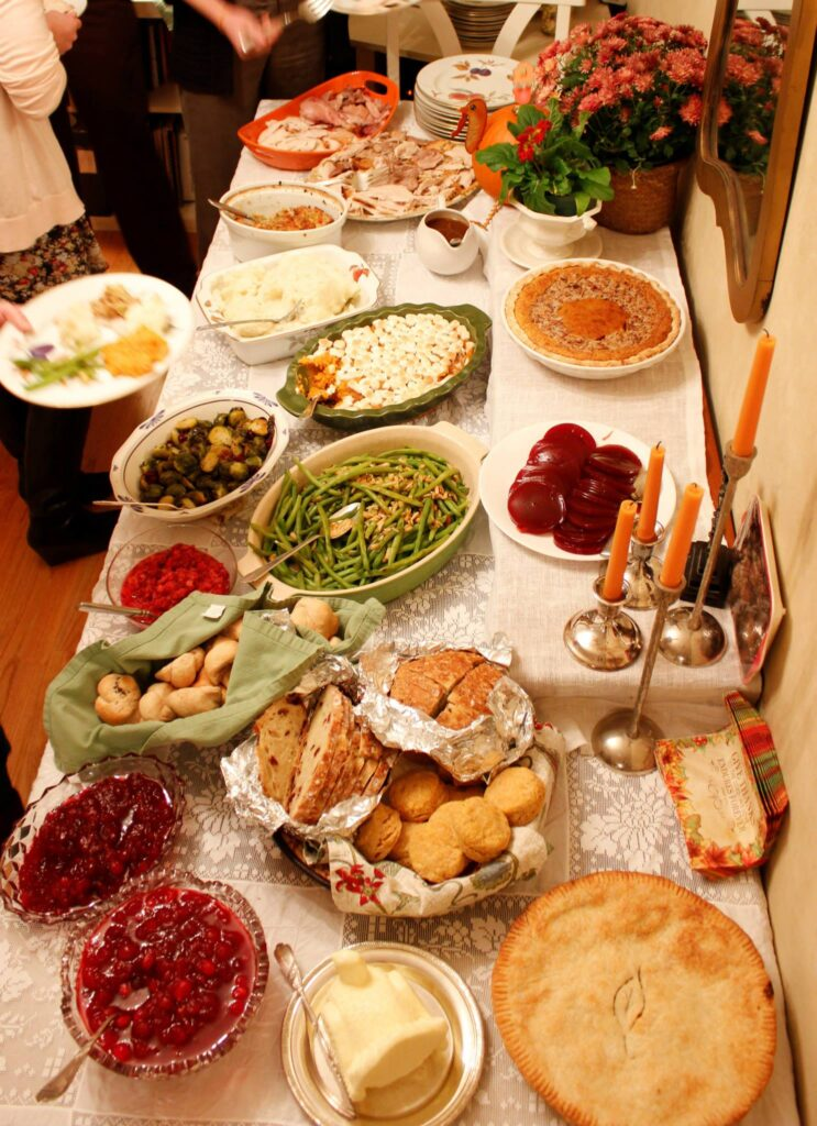 thanksgiving traditions and food