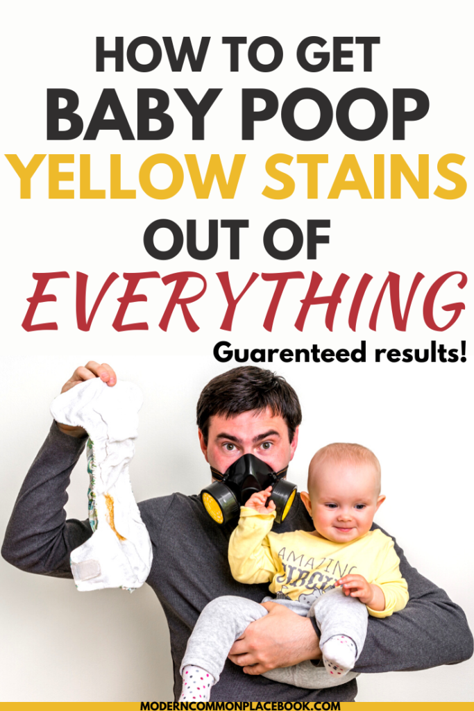 How to Remove Baby Poop Stains – Guaranteed Results for ANY scenario!