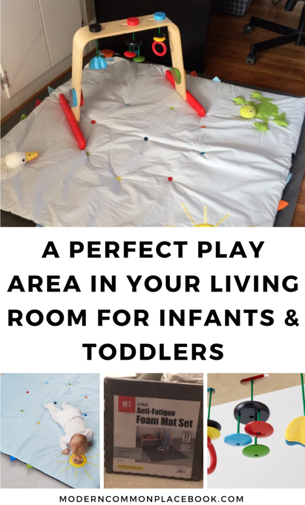 A Perfect Play Area in Living Room for Infants and Toddlers - play area, play area for toddlers, play area ideas