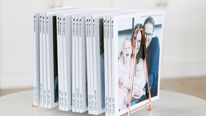 Photo books for going back to work after baby!