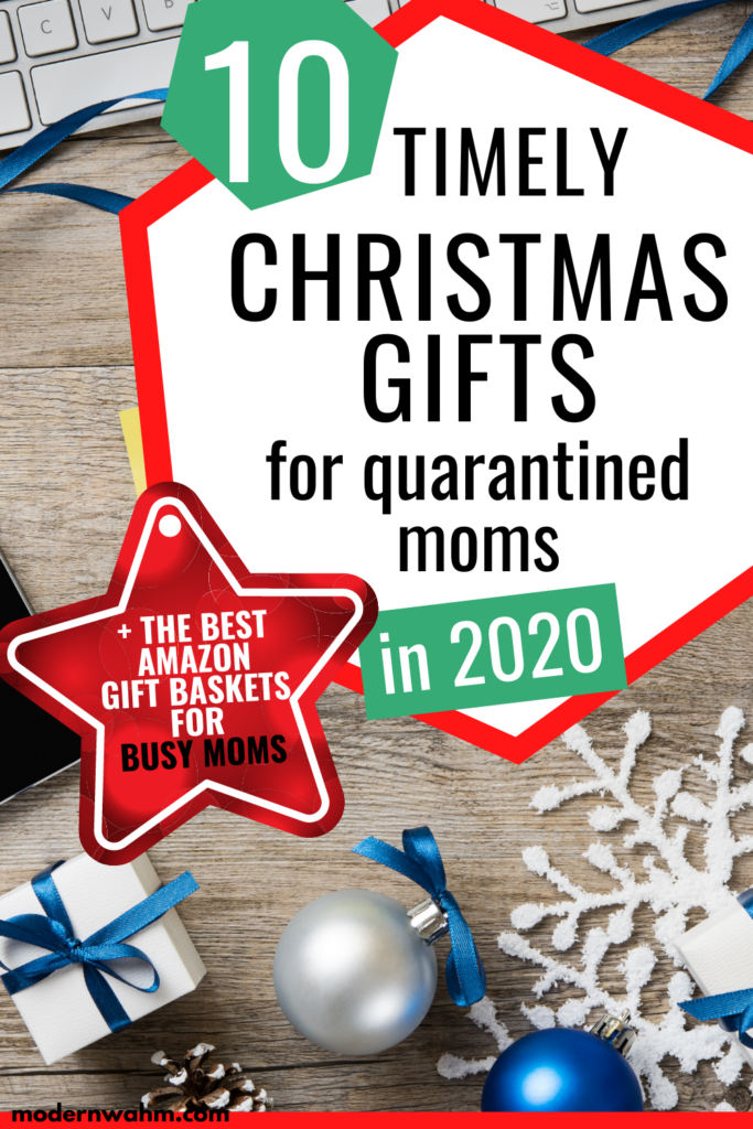 10 Christmas Gifts for Mom 2020 - For the Quarantined Mom in your life