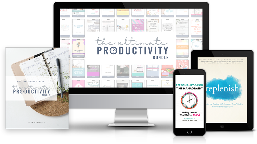 The best productivity planners for moms!