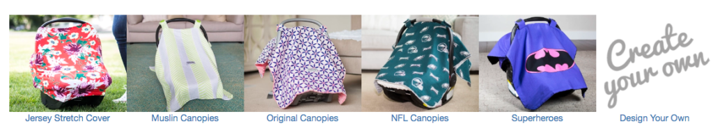 The Canopy Couture Carseat Canopy - Free Resources for Pregnant Moms