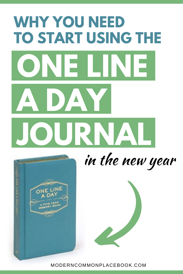 The One Line A Day Journal for Busy Moms