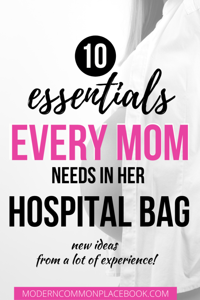 Hospital Bag Checklist: The BEST List from My Extended Experience