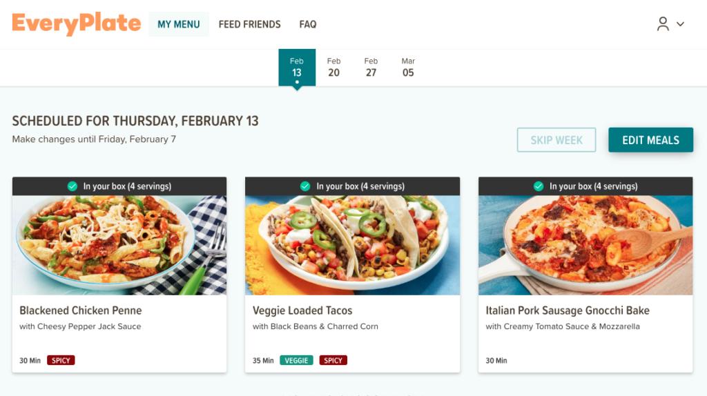 EveryPlate - Cheap Home Chef Alternative