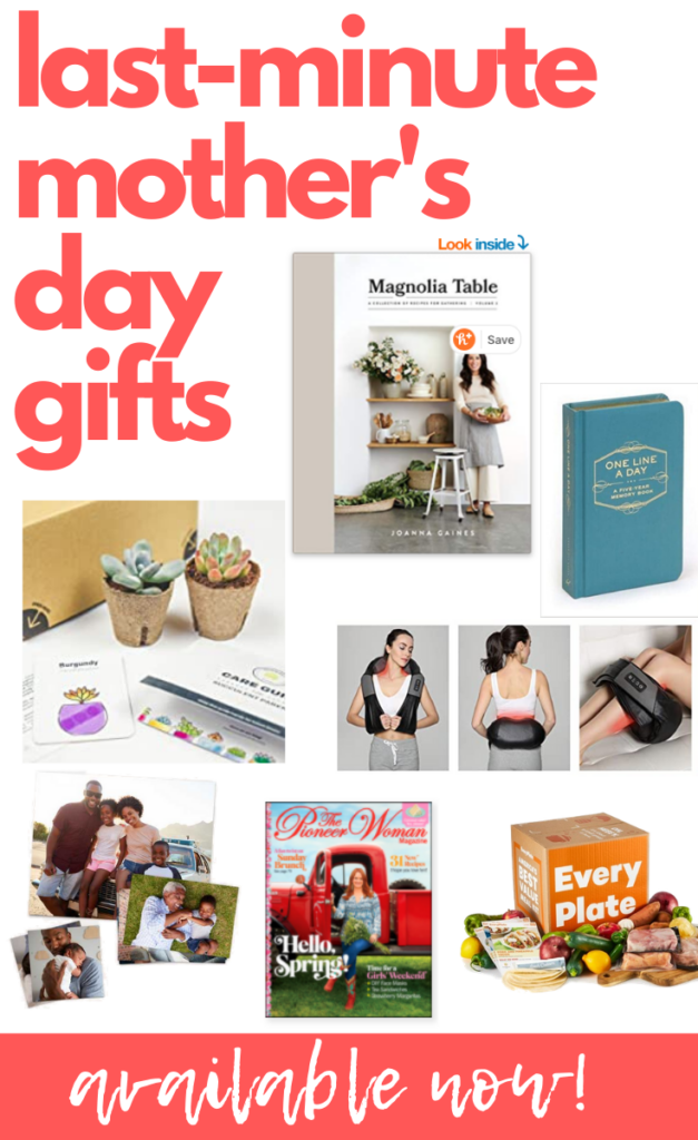 Last Minute Mothers Day Gifts for Working Moms