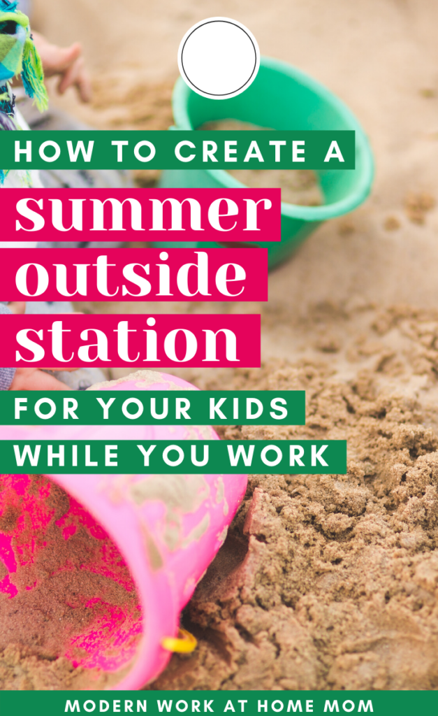 Non-Screen Kid Activities for Summer!