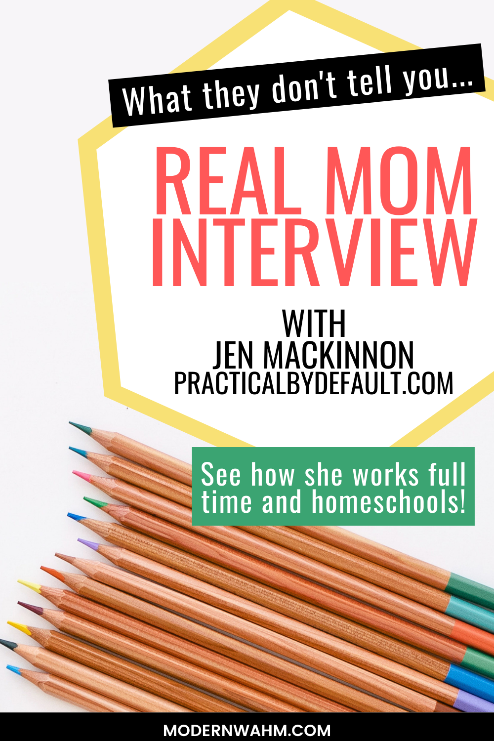 What they don\'t tell you: Being a work from home mom with Jen Mackinnon